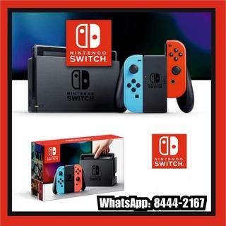 Nintendo Switch 100% Nuevos+160gb+10 Juegos A Escoger!