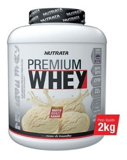 Whey Premium Nutrata Hidrolisada Concentrada 2kg