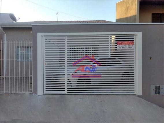 Casa Com 2 Dormitórios À Venda, 68 M² Por R$ 240.000 - Jardim Terras De Santo Antônio - Hortolândia/sp - Ca0121