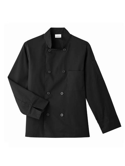 Five Star Chef Apparel 8 Button Jacket (black, Small)
