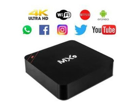 Conversor Smart Tv Box Mx9 4k Ultra Hd Wi-fi Android Hdmi Us