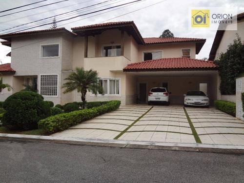 Casa Com 4 Dormitórios À Venda, 493 M² Por R$ 2.450.000,00 - Aldeia Da Serra - Santana De Parnaíba/sp - Ca0568