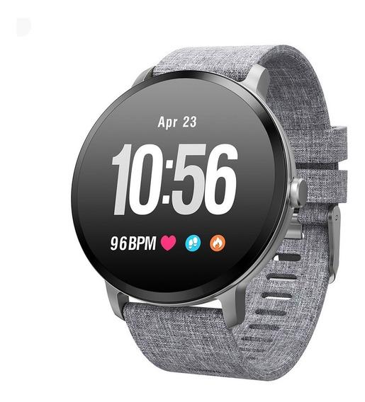 Smart Watch Inteligente Bluetooth Deportivo Mensaje V11 Gris