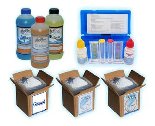 Kit De Químicos Para Limpieza De Albercas Intex, Bestway