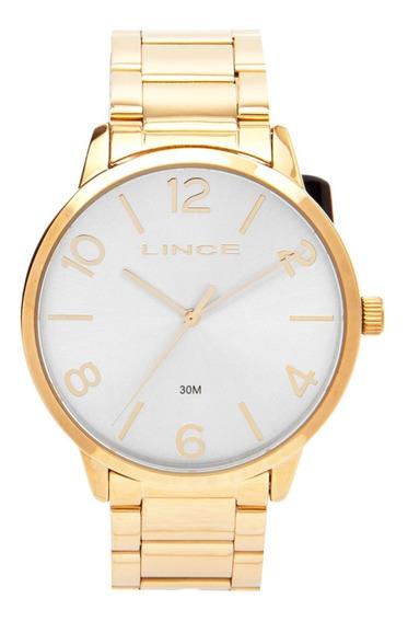 Relógio Lince Feminino Lrgj045l Dourado Analógico