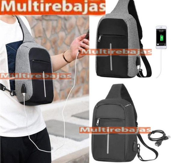 Mochila Antirrobo Puerto Usb Clave Laptops De 16