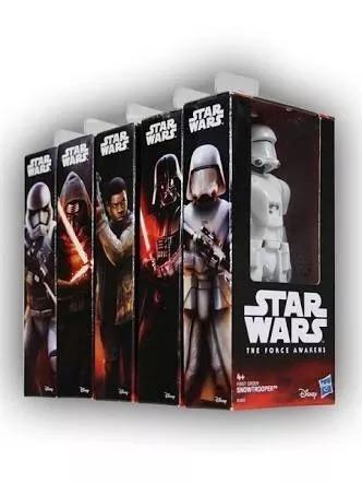 Star Wars Set Completo 5 Figuras 15 Cm Darth Vader