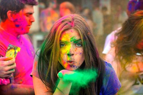 Polvo Neón Holi X 1 Kg (run Color Fest)