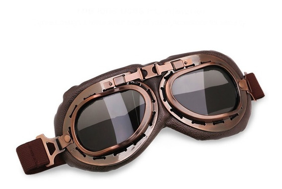 Óculos Moto Vintage Aviador Dobrável