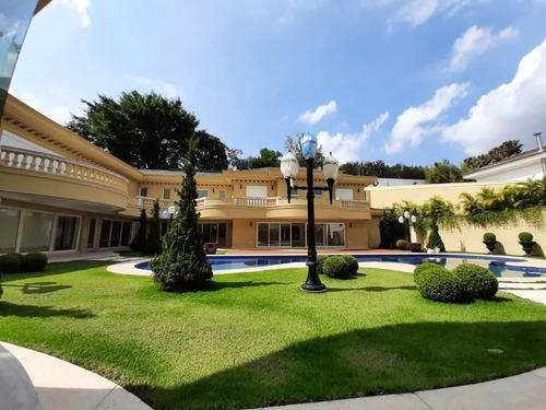Imagem 1 de 30 de Casa Com 10 Dormitórios À Venda, 2150 M² Por R$ 32.000.000,00 - Tamboré - Santana De Parnaíba/sp - Ca0190