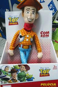 Boneco Toy Story Com Som Aperte E Ouça Ele Falar Com Vc