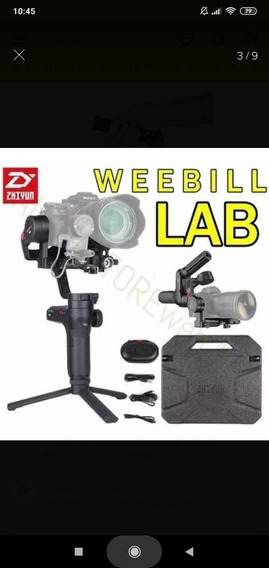 Gimbal Estabilizador Zhiyun Weebill Lab