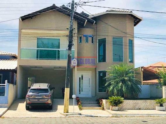Casa Em Condomínio-à Venda-ponta Grossa-maricá - Macn50004