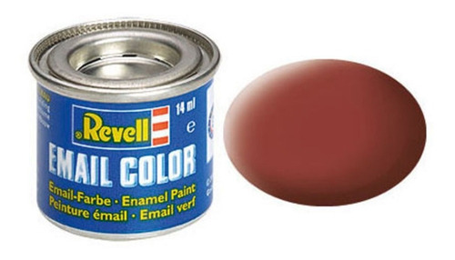 Tinta Enamel Reddish Brown Ral 3009 Fosco 14ml Revell 32137