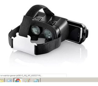 Oculos Realidade Virtual Vr Warrior Gamer Js080
