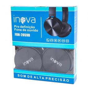 Fone De Ouvido Headphone Extra Bass Estério Inova