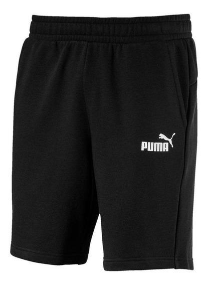 Bermuda Moletom Puma Essentials Sweat Masculina 851769-01