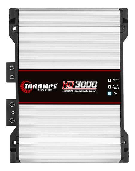 Modulo Taramps Hd 3000 Amplificador 1 Canal 3000 Rms 4 Ohms
