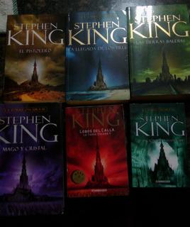 Libro La Torre Oscura Coleccion De 5 Libros Tomos 1,2,3,5,6.