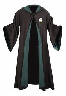 Capa Slytherin Draco Harry Potter *nuevo* Talla M Adultos
