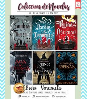 Colección De Novelas Saga Grisha Y Seis De Cuervos