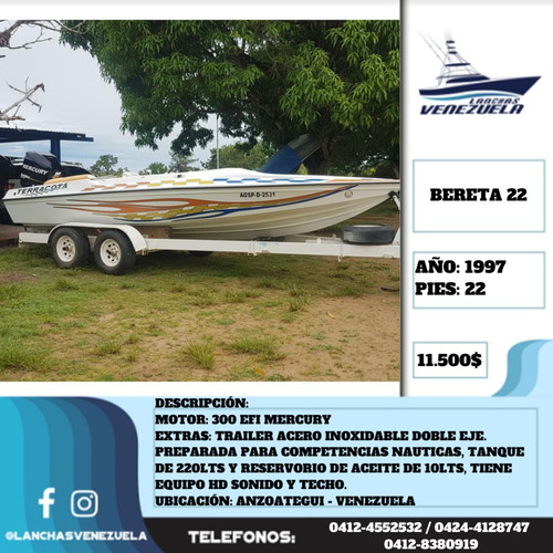 Lancha Bereta 22 Lv505