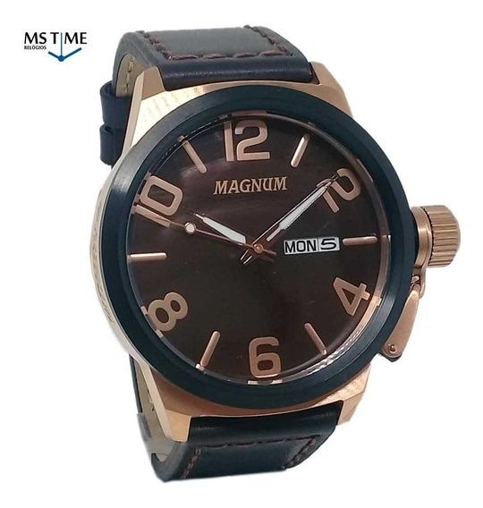 Relógio Magnum Masculino Analógico Grande Militar Ma33399z