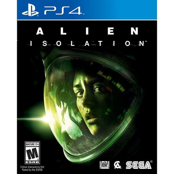 Alien: Isolation - Ps4 Mídia Física Lacrado