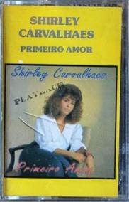 Fita K7 - Shirley Carvalhaes: Primeiro Amor Playback - 1994
