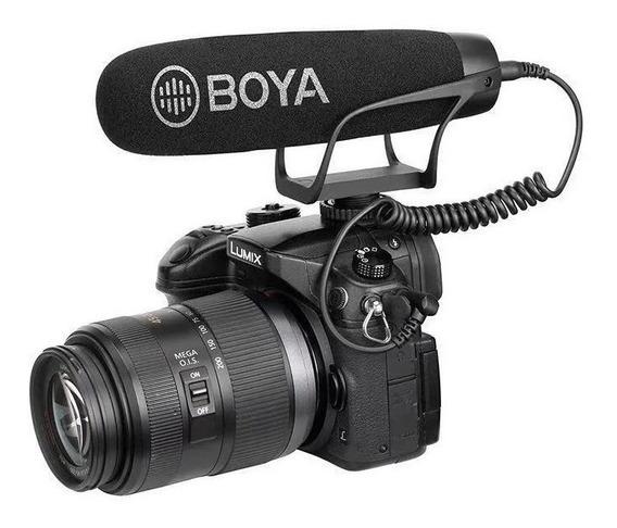 Microfone Direcional Boya By-bm2021 Para Câmera E Celulares