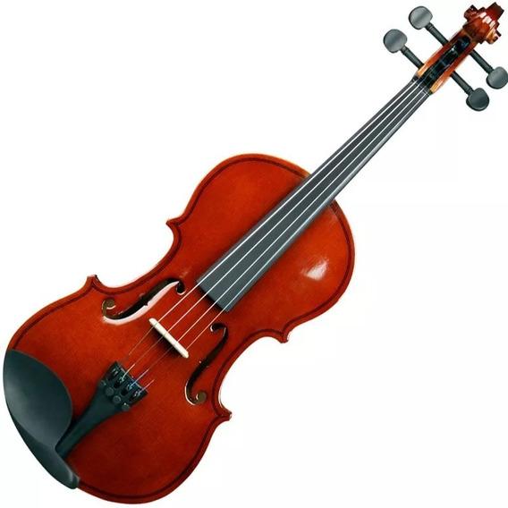 Violino 4/4 Concert Cv Com Hard Case + Arco + Breu
