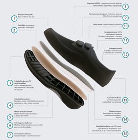 Zapato Para Diabéticos Sannabem, Envío Gratis