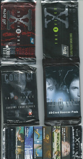 Cards The X Files Pack X 5 Sobres (nuevos)