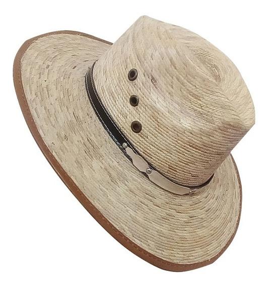 Sombrero De Palma Natural Indiana Con Envio Gratis