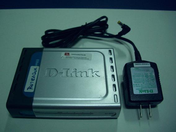 Roteador Dlink Di-604 Com Fonte P.n. Bdi604....e1