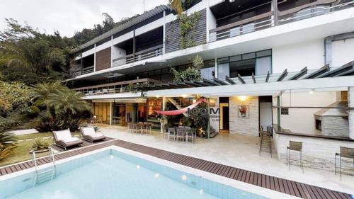 Casa Residencial À Venda, Laranjeiras, Rio De Janeiro. - Ca0205