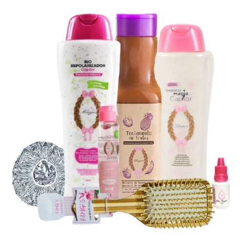 Kit Milagros Shampoo 2 Tratamientos Cep - mL a $244