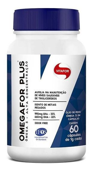 Ômega For Plus 1000mg (60caps) Vitafor