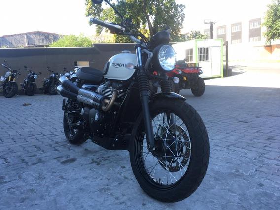 Triumph- Street Scrambler 900cc. 2019/2019