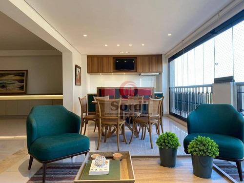 Apartamento À Venda, 295 M² Por R$ 2.350.000,00 - Residencial Morro Do Ipê - Ribeirão Preto/sp - Ap3180