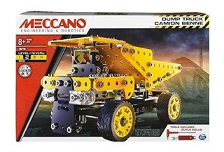 Meccano Erector Dump Truck Modelo Vehicle Building Kit Edad