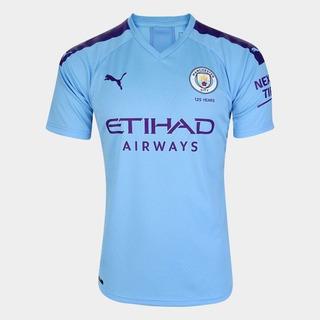 Camisa Manchester City 2020 Original Lançamento + Brinde