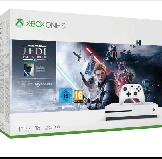 Xbox One S 1tb Ed. Star Wars Fallen Jedi