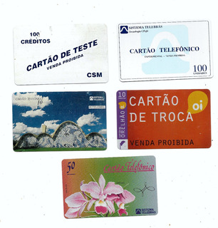 3366 Cinco Cartões Testes Pioneiros