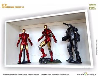 Expositor Estante Planeta Action Iron Figure Hot Toys 1:6
