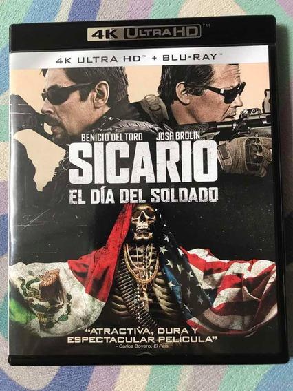 Blu-ray 4k Sicário Soldado