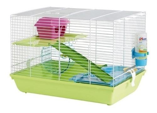 Imagen 1 de 3 de Jaula Para Hamster Savic Martha Triple