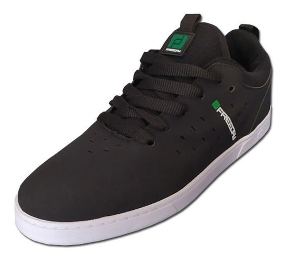 Tênis Freeday Skate Dalua Preto/verde/branco - Frete Grátis