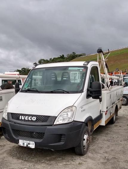 Iveco 55c17 Cesto Para Troca De Lampadas Em Postes