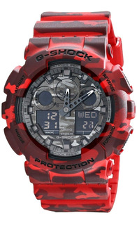 Reloj Casio G-shock Camuflado Deportivo Ga100cm-sadr + Envio